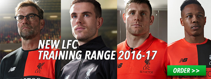 New Liverpool FC Training Range